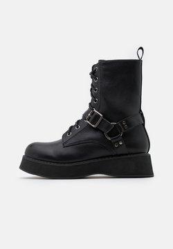 Koi Footwear - VEGAN - Platform-nilkkurit - black