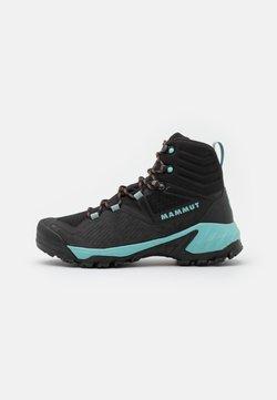 Mammut - SAPUEN HIGH GTX WOMEN - Hikingschuh - black/dark frosty