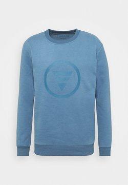 Curare Yogawear - ROUND NECK  CHEST PRINT - Sweatshirt - light blue