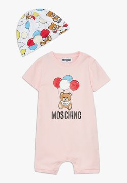 MOSCHINO - ROMPER HAT GIFT SET - Bonnet - sugar rose