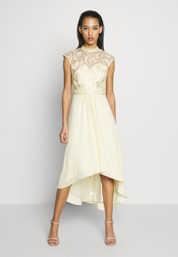 Chi Chi London - JAENIE DRESS - Vestido de fiesta - yellow