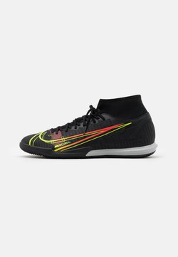 Nike Performance - MERCURIAL 8 ACADEMY IC - Indoor football boots - black/cyber/off noir