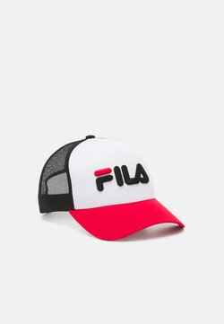 Fila - TRUCKER LINEAR LOGO SNAP BACK UNISEX - Lippalakki - true red/bright white/black