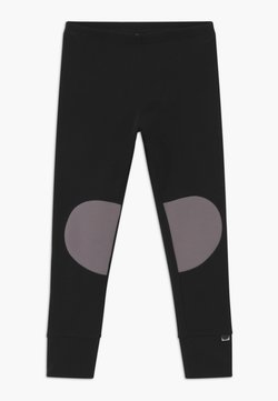 Papu - PATCH UNISEX - Legging - black/stone grey