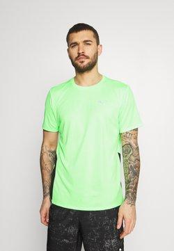 Puma - RUN FAVORITE TEE  - Funktionsshirt - elektro green/black