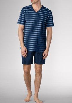 Mey - SCHLAFANZUG KURZ - Pyjama - yacht blue
