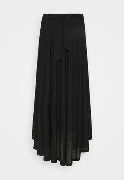 Esprit - LONG - Jupe longue - black