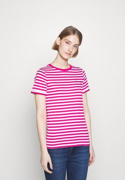 HUGO - THE SLIM TEE - T-Shirt print - bright pink