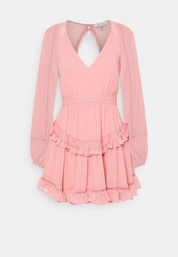 Forever New - JANE SPLICE MINI DRESS - Day dress - dusty blush