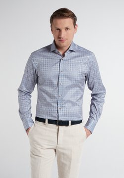 Eterna - Businesshemd - hellblau/beige