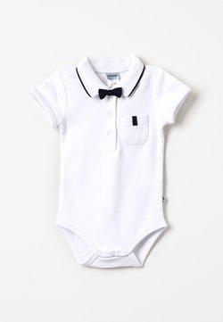 Jacky Baby - KURZARM MIT ABNEHMBARER FLIEGE CLASSIC BOY BABY - Polo - weiß