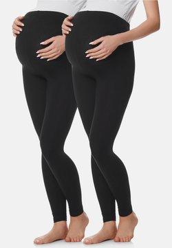 BeMammy - 2 PACK - Legging - black/black