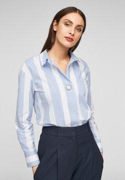 s.Oliver BLACK LABEL - Hemdbluse - blue stripes