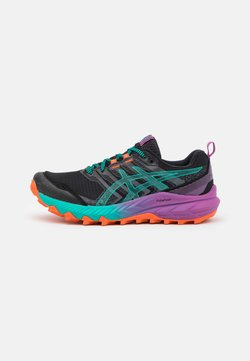 ASICS - GEL-TRABUCO 9 - Zapatillas de trail running - black/baltic jewel