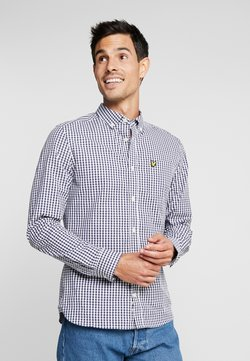 Lyle & Scott - SLIM FIT GINGHAM  - Hemd - navy