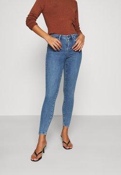 ONLY Petite - ONLPOWER PUSH UP  - Jeans Skinny Fit - blue denim