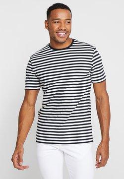 Only & Sons - ONSJAMIE LIFE SS STRIPE REG TEE NOO - T-Shirt print - dark navy