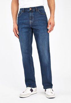 Next - Jeans Relaxed Fit - mottled blue
