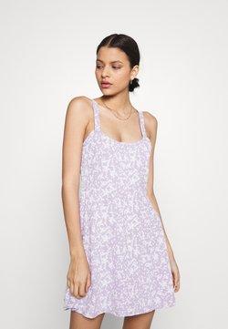 Cotton On - TURNER STRAPPY MINI DRESS - Vestido ligero - lilac
