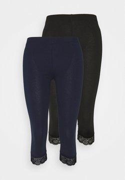 Anna Field Petite - 2 PACK - Legging - black/dark blue