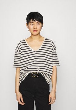 Lounge Nine - KYA  - T-Shirt print - navy/oat