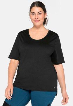 Sheego - T-Shirt print - schwarz