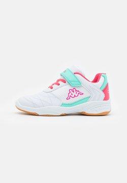 Kappa - DROUM II UNISEX - Gym- & träningskor - white/pink
