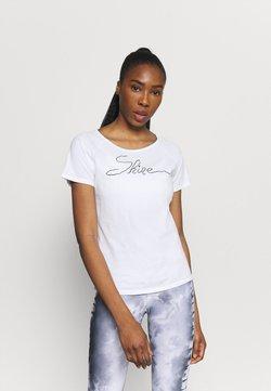 Yogasearcher - SHINE - T-Shirt print - white