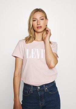 Levi's® - THE PERFECT TEE - Printtipaita - sepia rose