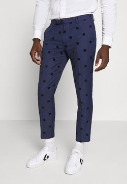 Twisted Tailor - BACCHUS TROUSER - Stoffhose - navy