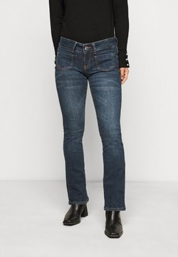 Vero Moda Petite - VMDINA - Flared Jeans - dark blue denim