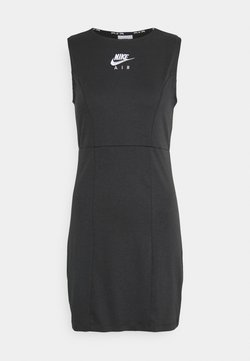 Nike Sportswear - AIR DRESS - Etuikleid - smoke grey/black/white