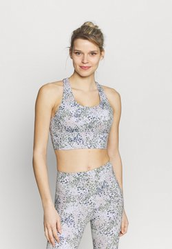 Cotton On Body - ULTIMATE LONGLINE CROP - Sport-BH mit leichter Stützkraft - lunar rock