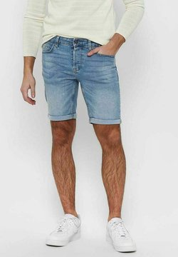 Only & Sons - Jeansshort - blue denim
