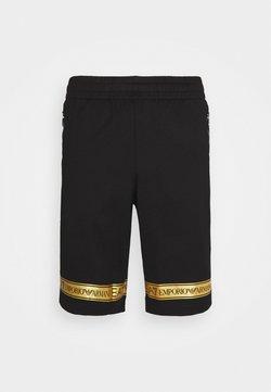 EA7 Emporio Armani - Szorty - black/gold-colored