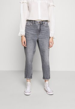 Topshop Petite - MOM CLEAN  - Relaxed fit jeans - grey