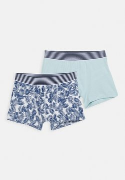 Petit Bateau - BOXERS 2 PACK - Shorty - blue/green