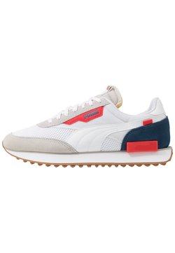 Puma - RIDER - Sneaker low - gray violet/white/dark denim