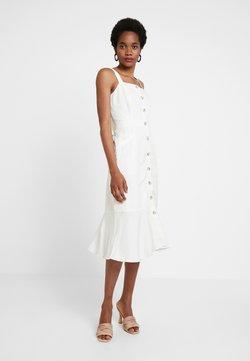 Banana Republic - MIDI DRESS - Vestido camisero - white