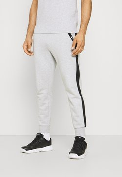 Lacoste Sport - PANT TAPERED - Jogginghose - silver chine/black