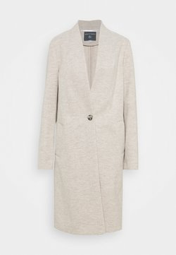 Dorothy Perkins Tall - COLLARLESS UNLINED COAT - Wollmantel/klassischer Mantel - oatmeal