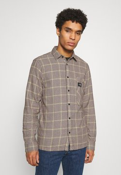 Scotch & Soda - GENTLEMAN'S CHECK - Vapaa-ajan kauluspaita - dark brown