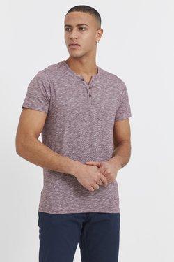 Solid - RUNDHALSSHIRT SIGOS - T-Shirt basic - wine red