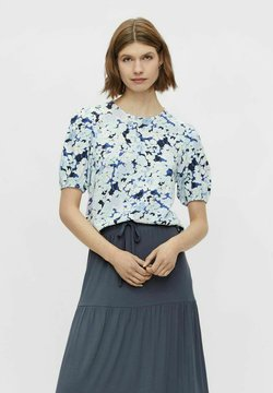 Pieces - T-Shirt print - vista blue