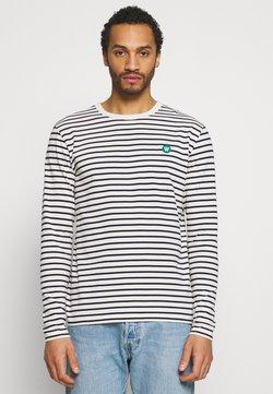 Wood Wood - Langarmshirt - off white/navy stripes