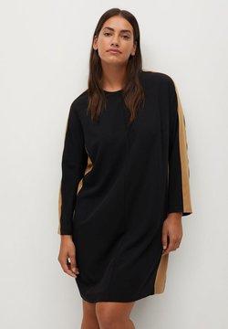 Violeta by Mango - PIPING7 - Jerseykleid - schwarz