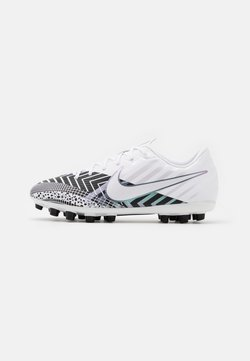 Nike Performance - MERCURIAL JR VAPOR 13 ACADEMY AG UNISEX - Chaussures de foot à crampons - white/black