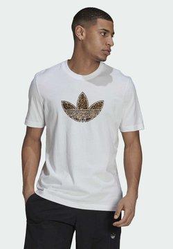 adidas Originals - TREFOIL  - Printtipaita - white