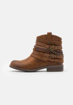 mtng - Cowboy-/Bikerlaarsjes - brown