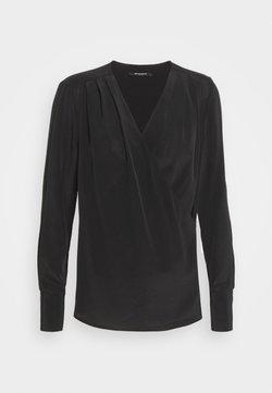 Bruuns Bazaar - LILLIE EVENT BLOUSE - Blouse - black
